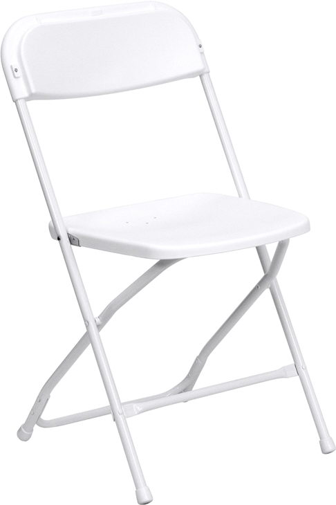 Where to find CHAIR, WHITE, FOLDING in Concord