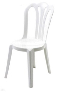 Where to rent CHAIR, WHITE, BISTRO in Concord CA