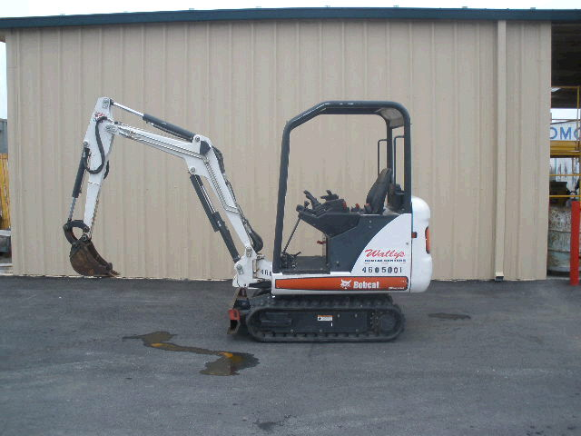 Where to find EXCAVATOR, BOBCAT, 323 in Concord