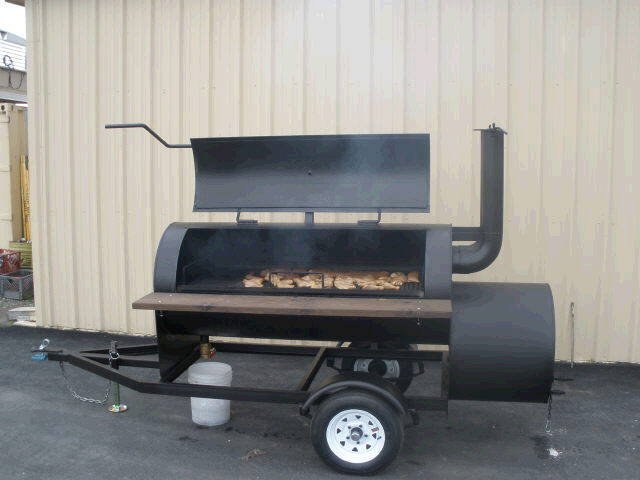 Bbq Smoker 6 Foot X30 Inch Towable Rentals Concord Ca