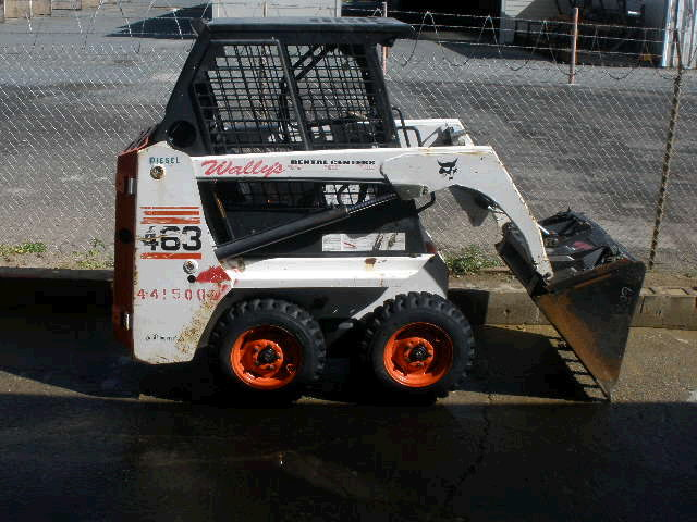 Where to find SKIDSTEER, BOBCAT, 463 in Concord
