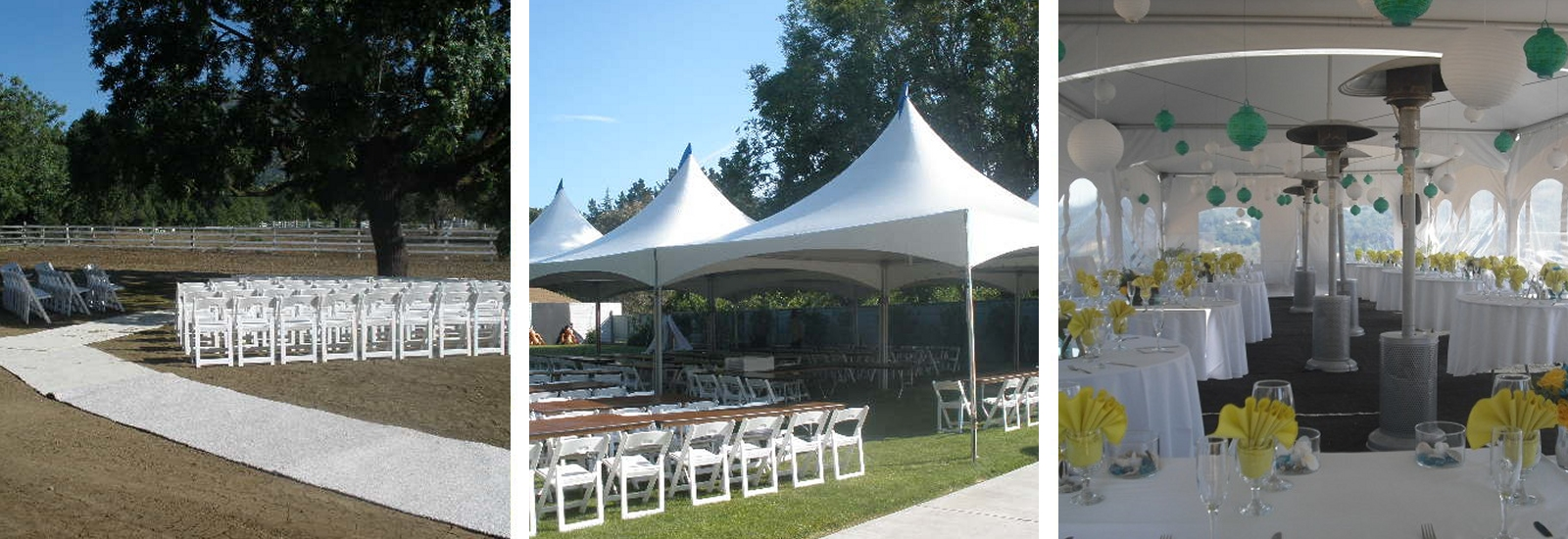 Party and Special Event Rentals in the Greater Contra Costa Area